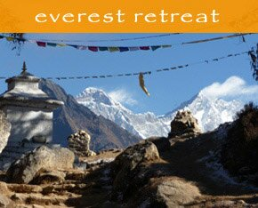 everest yoga retreat Himalayas